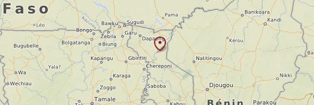 Carte Nord du Togo - Togo