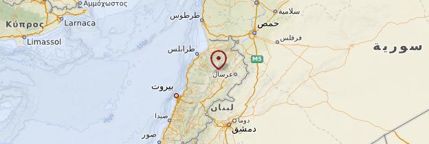 Carte Liban-Nord - Liban