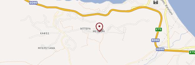 Carte Aptéra - Crète