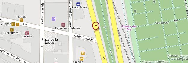 Carte CaixaForum - Madrid