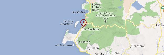 Carte La Gaulette - Île Maurice, Rodrigues