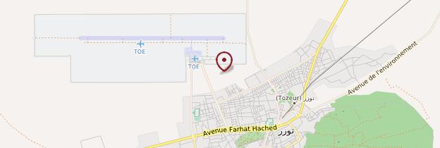 Carte Souk - Tunisie