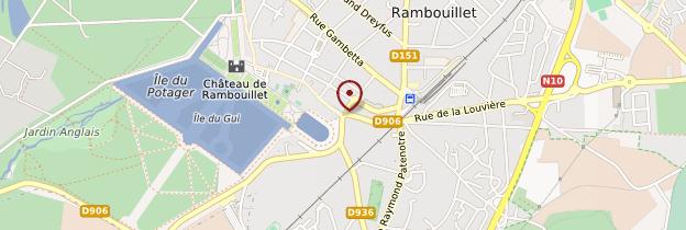 Carte Rambouillet - Île-de-France