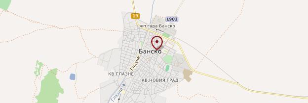 Carte Bansko - Bulgarie