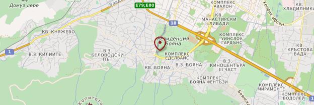 Carte Église de Boyana - Bulgarie