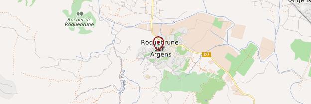 Carte Roquebrune-sur-Argens - Côte d'Azur
