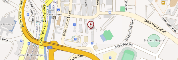 Carte Jalan Petaling - Kuala Lumpur