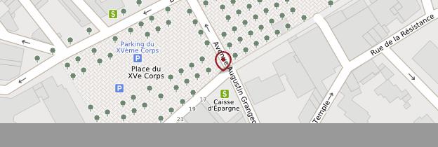Carte Place des Lices - Côte d'Azur