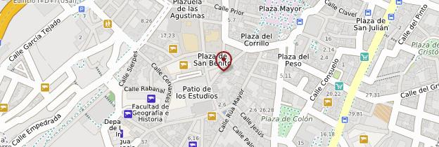 Carte Casa de Las Conchas - Espagne