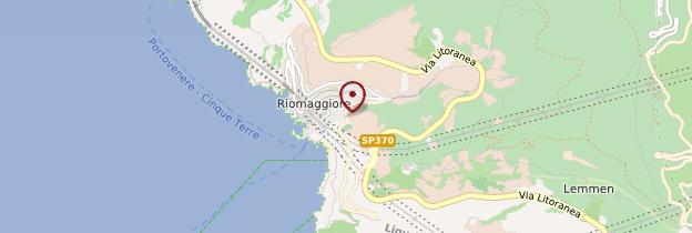 Carte Riomaggiore - Italie