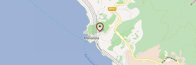 Carte Manarola - Italie