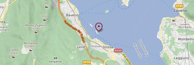 Carte Isola Bella - Italie