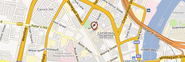 Carte Saint Anne's Cathedral - Irlande