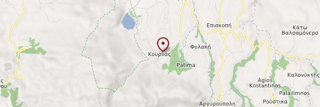 Carte Kournas - Crète