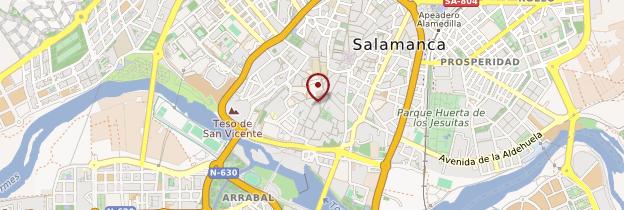 Carte Université de Salamanque - Espagne