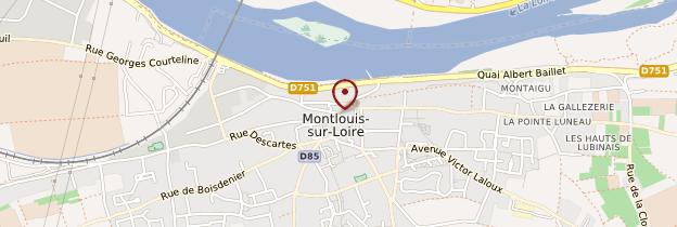 Carte Montlouis-sur-Loire - Châteaux de la Loire