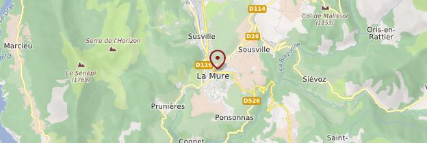 Carte La Mure - Alpes