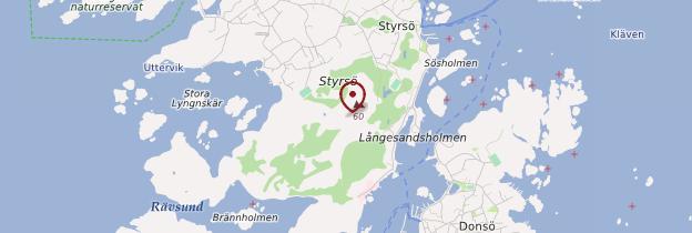 Carte Styrsö - Suède