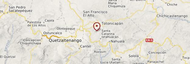 Carte Cerro de Oro - Guatemala