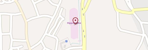 Carte Hippodrome - Jordanie