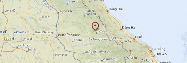 Carte Wat Phou - Laos