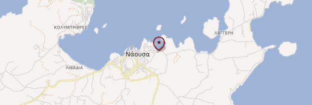 Carte Naoussa - Îles grecques