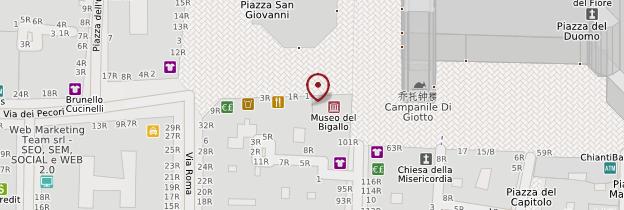 Carte Battistero - Florence