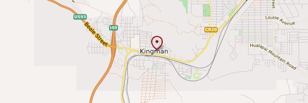 Carte Kingman - États-Unis