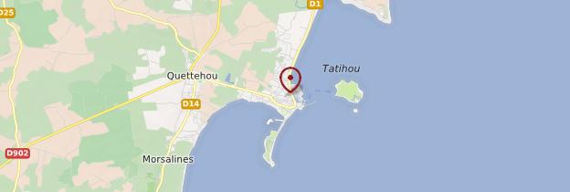 Carte Saint-Vaast-la-Hougue - Normandie