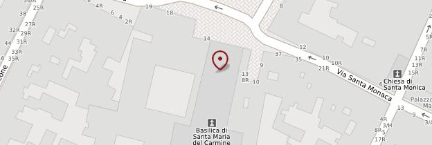 Carte Chiesa Santa Maria del Carmine - Florence