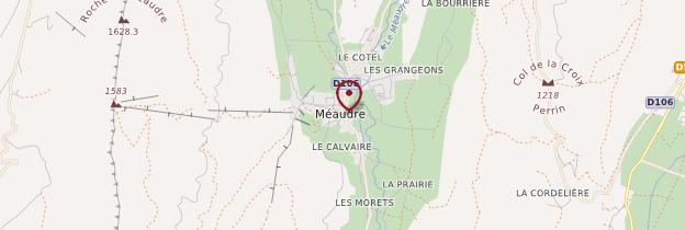 Carte Méaudre - Alpes
