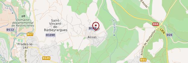 Carte Assas - Languedoc-Roussillon