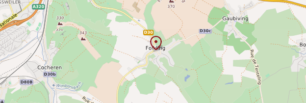 Carte Folkling - Lorraine