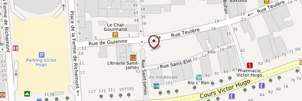 Carte Grosse Cloche (porte Saint-Éloi) - Bordeaux