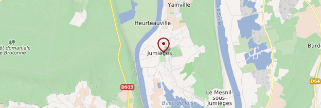 Carte Jumièges - Normandie