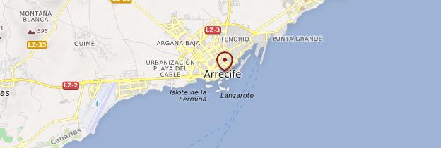 Carte Arrecife - Lanzarote
