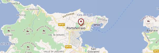 Carte Portoferraio - Toscane