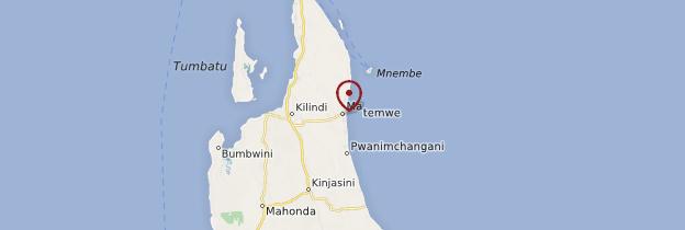 Carte Matemwe - Zanzibar