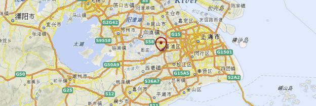 Carte Zhujiajiao - Chine