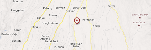 Carte Bangli - Bali