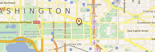 Carte National Gallery of Art - Washington DC