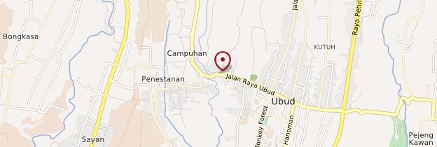 Carte Campuhan - Bali