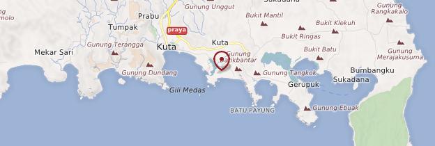 Carte Kuta - Indonésie