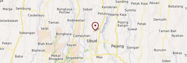 Carte Pura Taman Kemuda Saraswati - Bali
