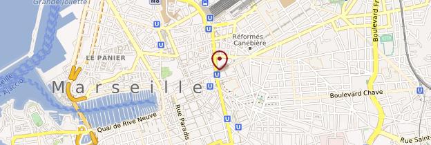 Carte Centre-ville de Marseille - Marseille