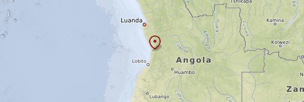 Carte Côte - Angola
