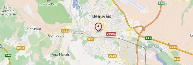 Carte Beauvais - Picardie