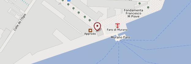 Carte Phare de Murano - Venise