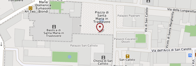 Carte Basilica Santa Maria in Trastevere - Rome