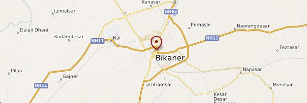 Carte Bikaner - Rajasthan